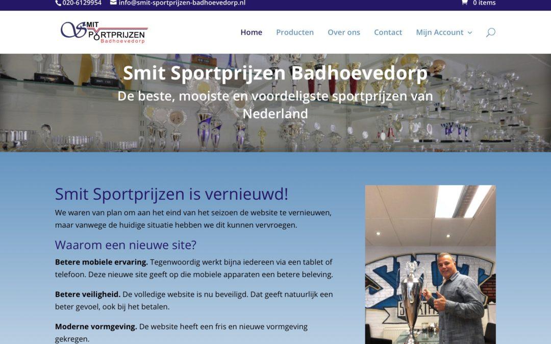 Smit Sportprijzen Badhoevedorp vernieuwd!